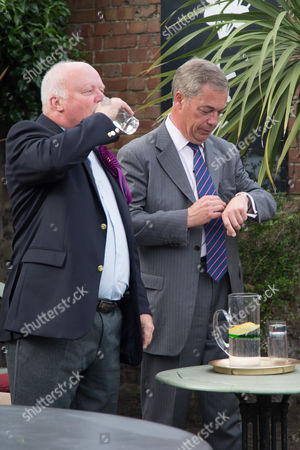 Nigel Farage adds his support to Thanet South UKIP candidate for next weeks general election Rev Stuart Piper.