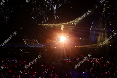 Editorial photo of Yoga Lin concert, Shenyang, Liaoning Province, China - 04 Jun 2017
