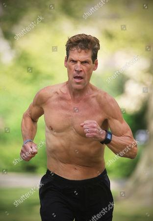Author and Ultramarathon runner Dean Karnazes in Russell Square