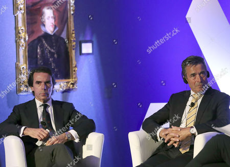 Anders Fogh Rasmussen and Jose Maria Aznar