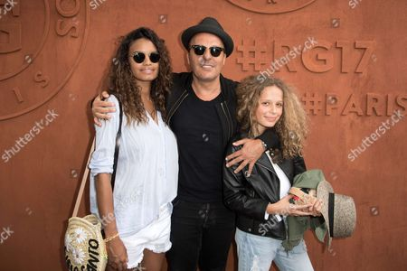 Editorial image of Celebrities at the French Open, Paris, France - 05 Jun 2017