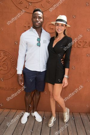 Editorial picture of Celebrities at the French Open, Paris, France - 05 Jun 2017