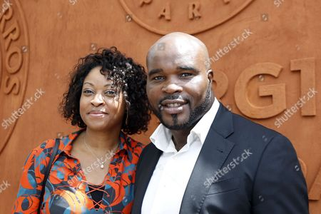 Jean-Marc Mormeck and wife