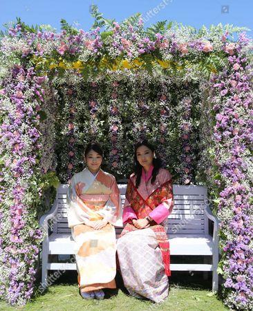 Bhutan Princess Mako's with Majesty Queen Jetsun Pema Wangchuck