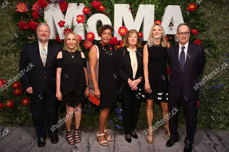 Stock Photo of David and Susan Rockefeller, Carrie Mae Weems, Vija Clemins, Eva and Glenn Dubin