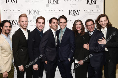 Editorial image of Tony Honors Cocktail Party, Arrivals, New York, USA - 05 June 2017