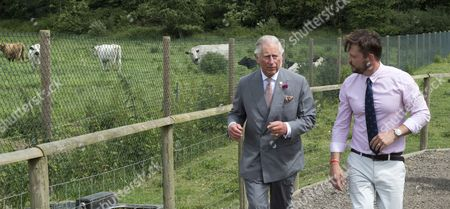 Editorial picture of Prince Charles visit to Jimmy's Farm, Ipswich, UK - 05 Jun 2017