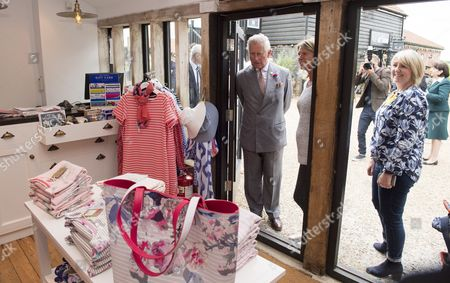 Stock Image of Prince Charles, Patron, The Rare Breeds Survival Trust, visited Jimmy's Farm and met the trust's new President, Jimmy Doherty, and learned about the farm's education and rare breeds programme