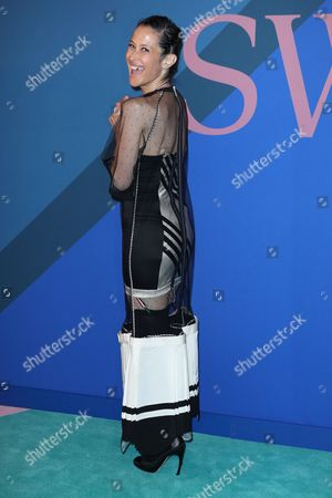 Editorial image of CFDA Fashion Awards, Arrivals, New York, USA - 05 June 2017