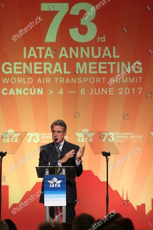 Editorial picture of International Air Transport Association (IATA) assembly in Cancun, Mexico - 05 Jun 2017