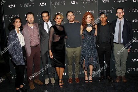 Editorial picture of New York Premiere of A24's 'It Comes at Night' Presented by Ruffino Wines, New York, USA - 05 Jun 2017