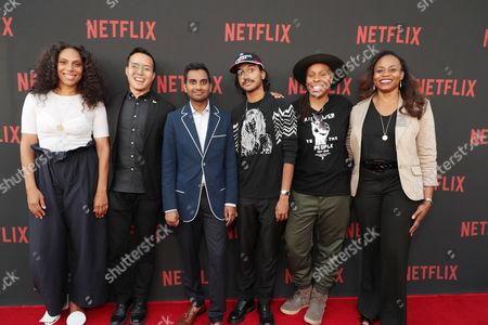 Melina Matsoukas, Alan Yang, Aziz Ansari, Aniz Ansari, Lena Waithe, Pearlena Igbokwe