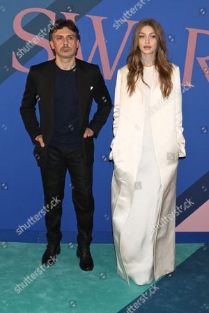 Giovanni Morelli and Gigi Hadid