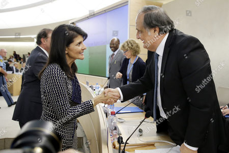 Nikki Haley and Joaquin Alexander Maza Martelli