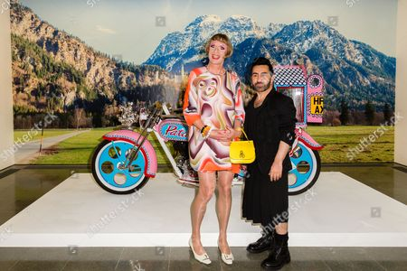 Grayson Perry and Johnny Coca