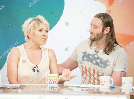 Tina Malone and Paul Chase