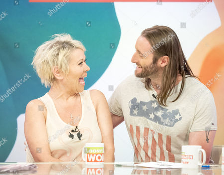 Stock Image of Tina Malone and Paul Chase