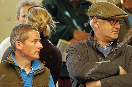 Tom Malone and Donald McCain at Tattersalls Ireland Ascot Sales