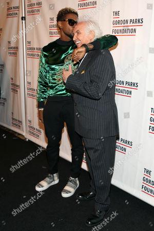Usher, Tony Shafrazi