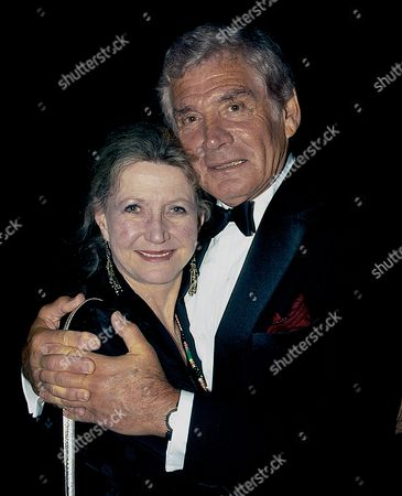 Betty Claire Kalb and Gene Barry