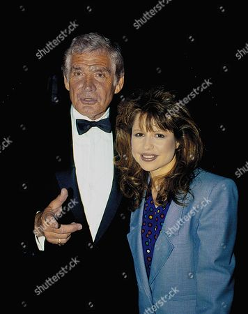 Gene Barry and Pia Zadora
