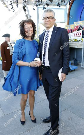Anders Thornberg with wife Ann-Sofie