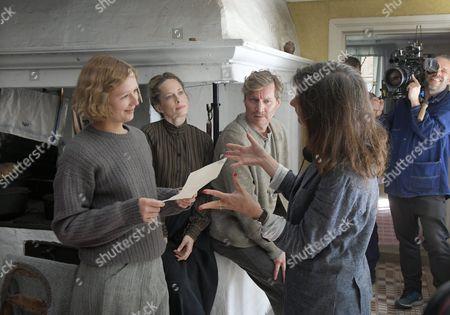 Alba August, Maria Bonnevie, Magnus Krepper and Pernille Fischer Christensen