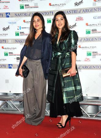 Angela Fontana and Marianna Fontana