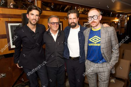 Teo Van Den Broeke, Nick Ashley, Jack Guinness and Marcus Jaye