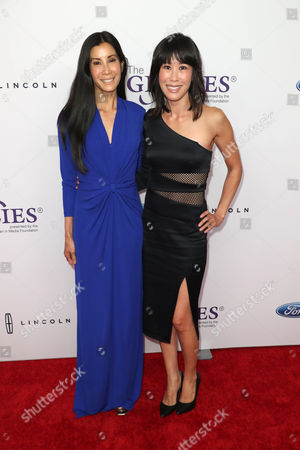 Stock Photo of Lisa Ling and Laura Ling
