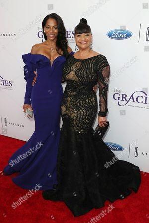 Editorial picture of The 42nd Annual Gracie Awards Gala, Arrivals, Los Angeles, USA - 06 Jun 2017