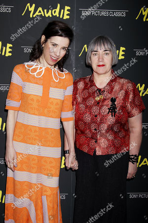 Sally Hawkins and Aisling Walsh