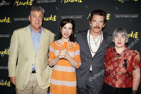 Tom Bernard, Sally Hawkins, Ethan Hawke and Aisling Walsh