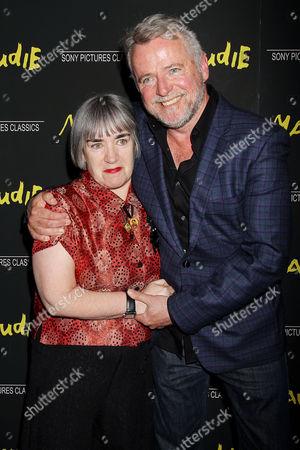 Aisling Walsh and Aidan Quinn