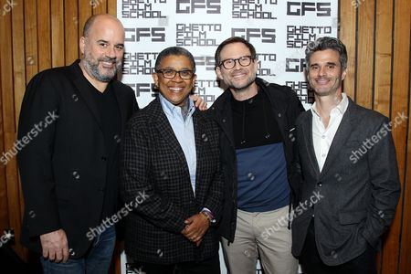Stock Image of Joe Hall, Sheril Antonio, Christian Slater, Evan Shapiro