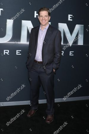 Editorial image of 'The Mummy' film premiere, New York, USA - 06 Jun 2017