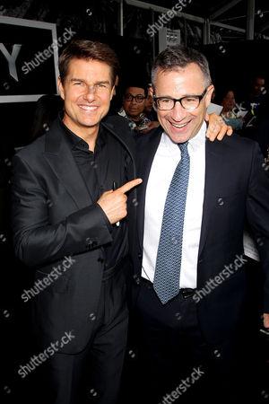 Tom Cruise, Josh Goldstine (Pres. Worldwide Marketing Universal Pictures)