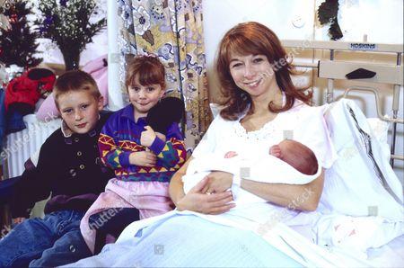 Warren Jackson (as Nicky Tilsley), Lynsay King (as Sarah Tilsley), Helen Worth (as Gail Tilsley) and Thomas Ormson (as David Platt)