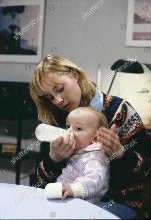 Sally Dynevor (as Sally Webster) and Emma Collinge (as Rosie Webster)