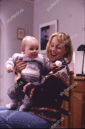 Emma Collinge (as Rosie Webster) and Sally Dynevor (as Sally Webster)