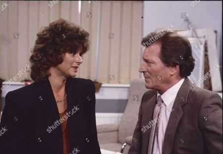 Shirin Taylor (as Jackie Ingram), Johnny Briggs (as Mike Baldwin)