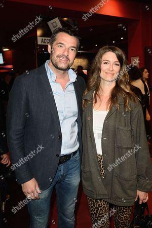 Arnaud Ducret and Diane Ducret