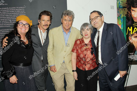 Stock Picture of Mary Sexton (Producer), Ethan Hawke, Tom Bernard, Aisling Walsh (Director), Michael Barker