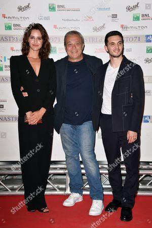 Giacomo Ferrara, Claudio Amendola, Valentina Belle