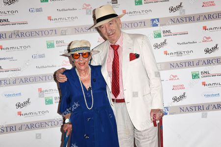 Giuliano Montaldo and wife Vera Pescarolo