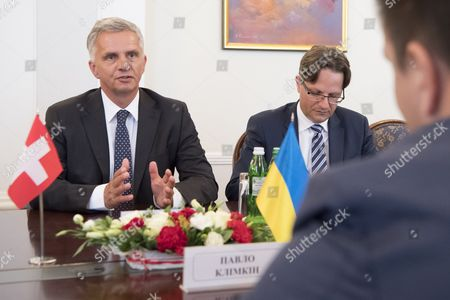 Didier Burkhalter and Pavlo Klimkin