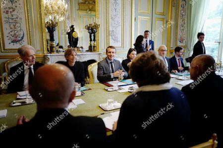 Marielle de Sarnez, Emmanuel Macron, Boiko Borissov
