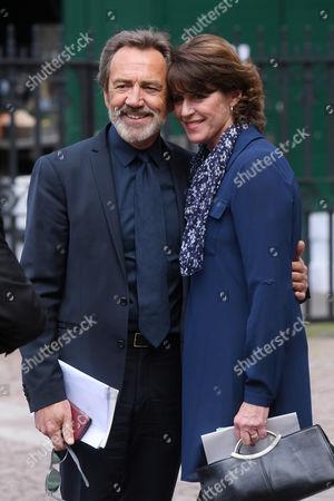 Robert Lindsay and Rosemary Ford