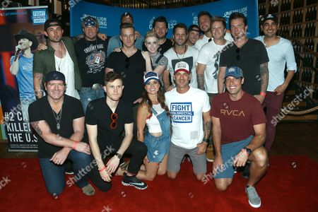 Editorial photo of 5th Annual Craig Campbell Celebrity Cornhole Challenge, Nashville, USA - 06 Jun 2017