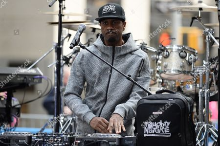 Stock Photo of Naughty By Nature - DJ Kay Gee.